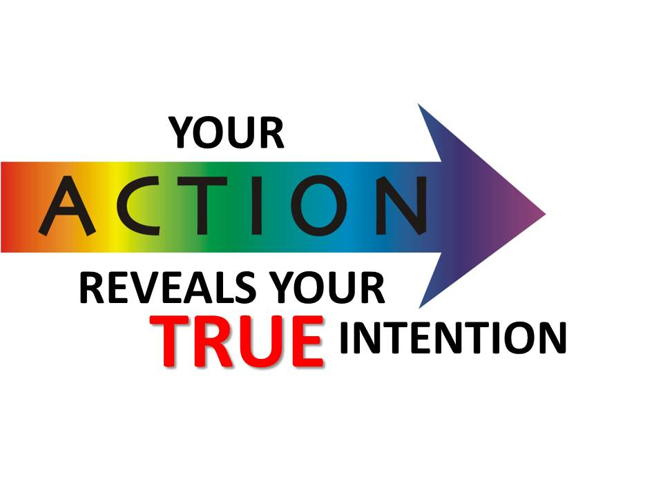 Action Reveals Intention