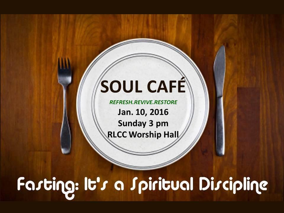 Soul Cafe Promo Jan 2016