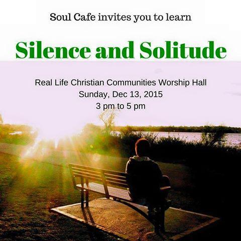 Silence and Solitude Promo