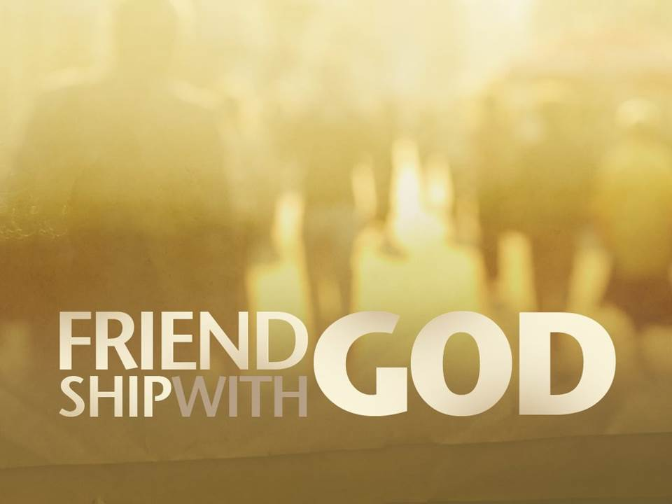 Prayer as Friendship with God