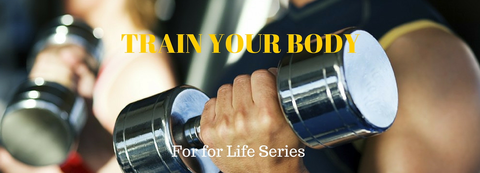 Train your Body Banner