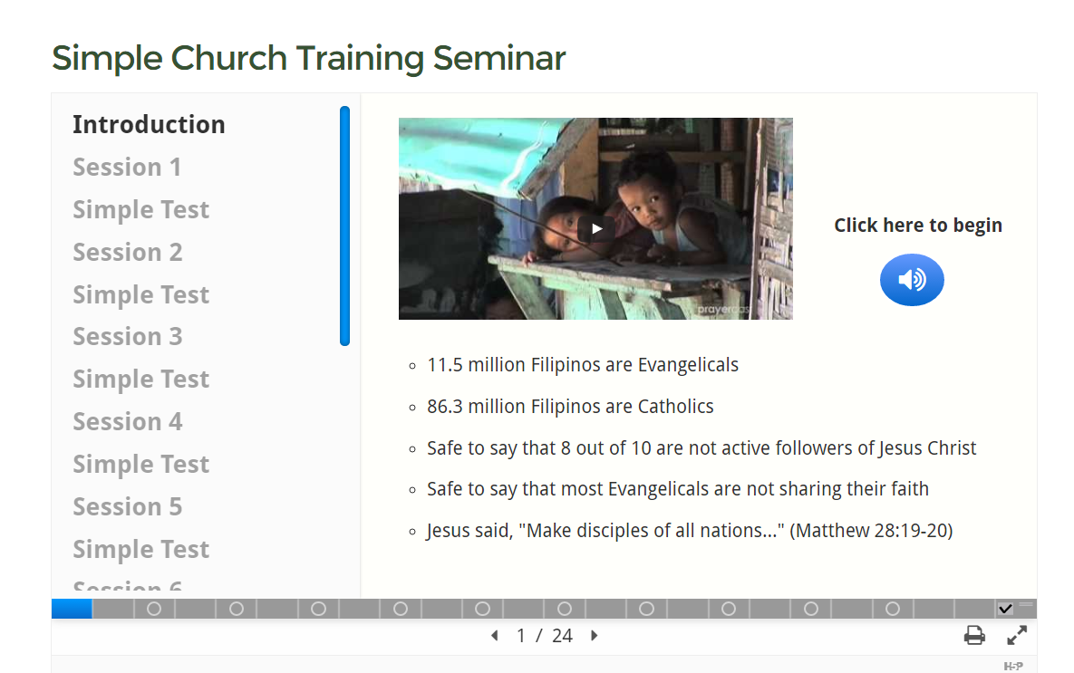 Simple Church Training