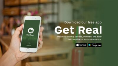 Get Real App Promo New