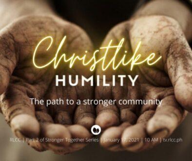Christlike Humility